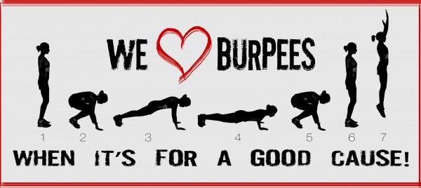 Quelques raisons qui vous feront aimer les burpees !!