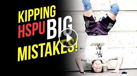 Kipping Handstand Push-ups : les erreurs à ne pas commettre