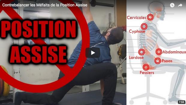 Comment Contrebalancer les Méfaits de la Position Assise ?