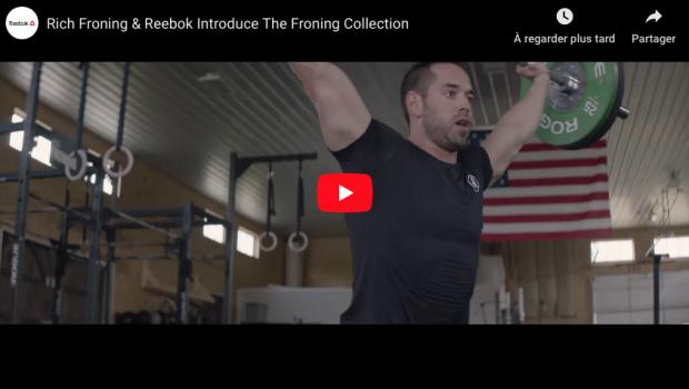 Rich Froning parle de sa nouvelle collection capsule avec Reebok