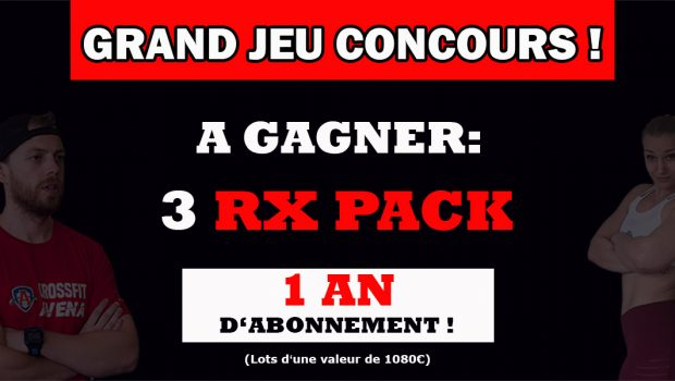 JEU CONCOURS ROAD TO RX – 3 RX PACK 1 AN À GAGNER