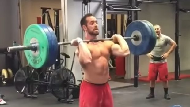 Old School : Rich Froning et Mat Fraser s'entraîne ensemble en Clean & Jerk