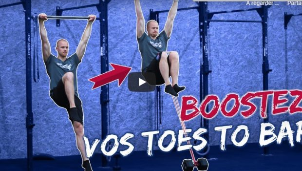 exercices pour les toes to bar en crossfit