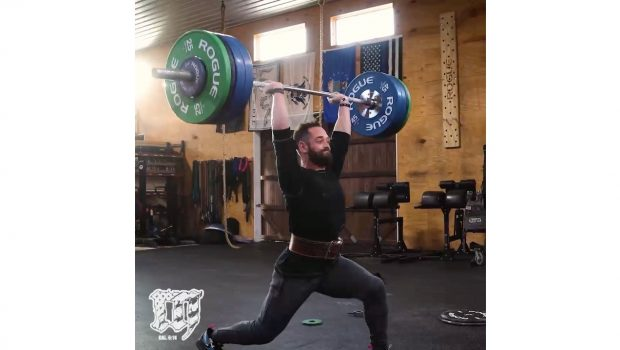 Rich Froning : clean and jerk à 143 kg !