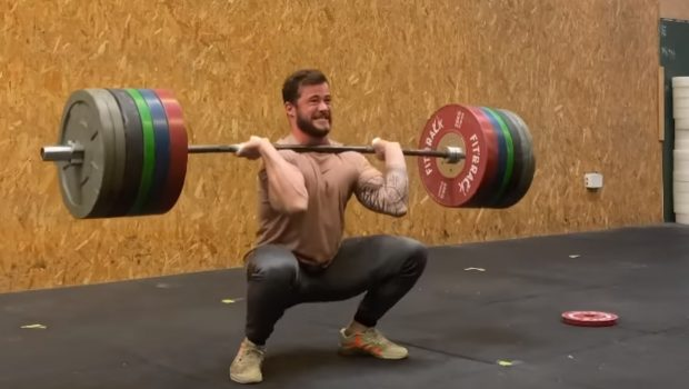 2 x 170 kg en squat clean en 90 secondes pour Willy Georges !