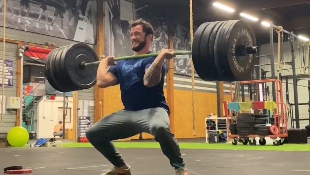 160 kg en power clean and jerk pour Willy Georges ! (PR)