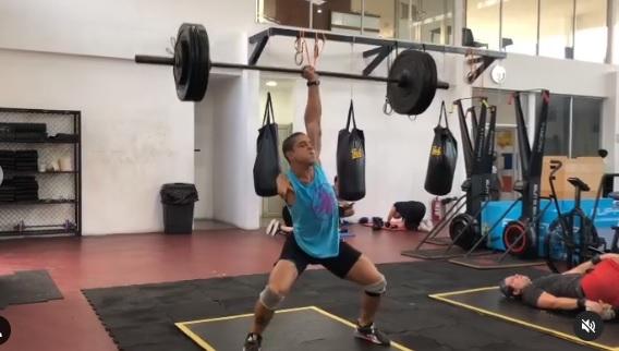 3 X 75 kg en clean and jerk pour Victor Assaf – athlète Adaptive !