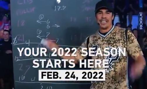 Les Opens de CrossFit ®* 2022 commenceront le 24 février !