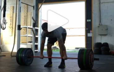 155 kg en complex hang squat clean + 2 front squats pour Willy Georges !